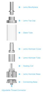 Eleaf Lemo Drop Rdta Rebuildable Atomizer 2 7ml eleaf lemo drop rdta rebuildable atomizer 2 7ml silver jakartanotebook