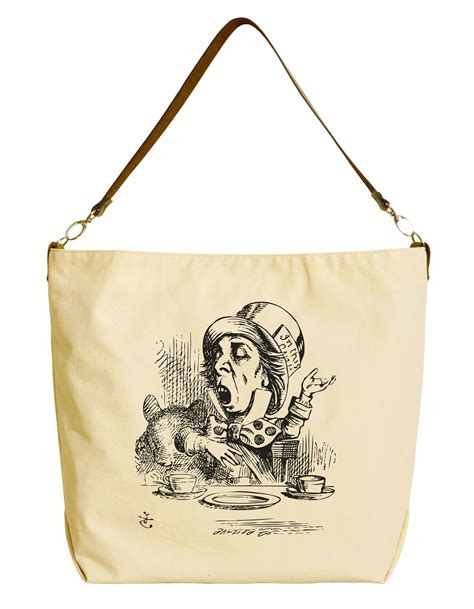 Tote Bag 29 in beige printed canvas tote bag with