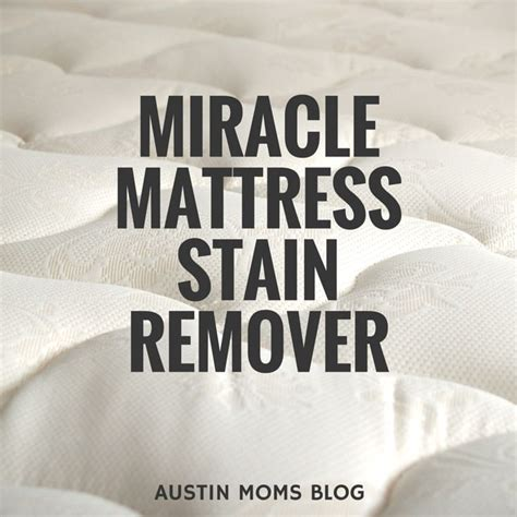 Best Way To Clean A Mattress Stain by 25 Unique Mattress Stain Removers Ideas On