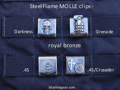 custom molle gear blue line gear product details steelflame custom