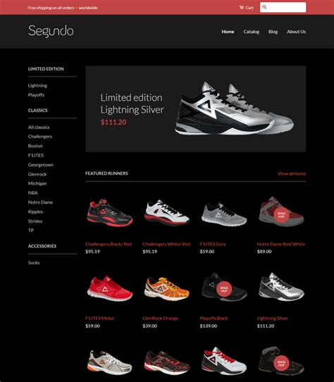 shopify themes shoes 4 of the best shopify themes for shoes footwear buildify