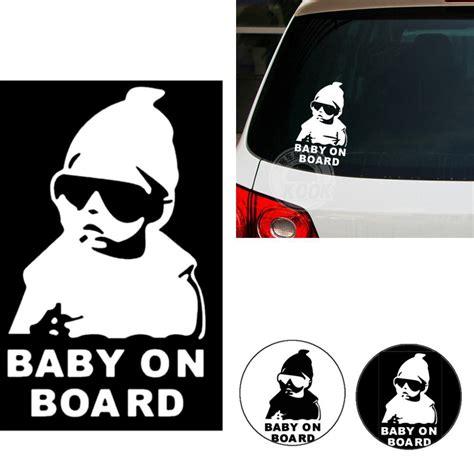 Baby On Board Sticker by Super Cool Kids Baby On Board Funny Car Vinyl Sticker