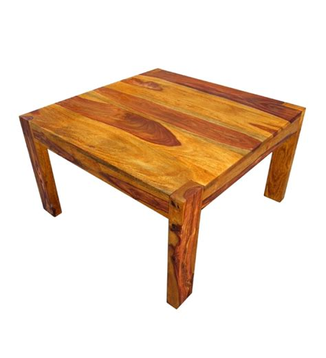 Basil Sheesham Wood Coffee Table By Mudra Online Coffee Sheesham Coffee Tables