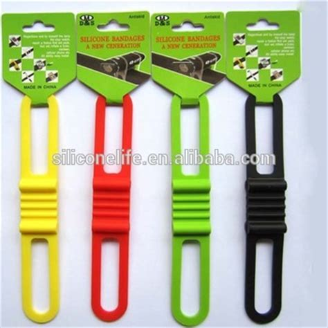 rubber name sts promotional smart strong elastic bike silicone rubber tie