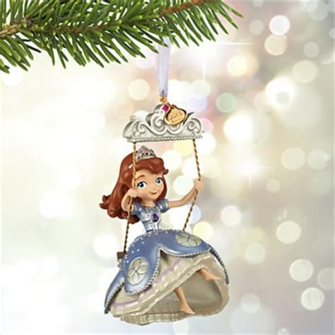 princess sofia the first on swing sketchbook ornament