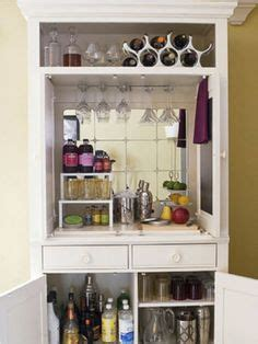 laziness idea i put our mini fridge in a corner of our basement bar on pinterest wet bars built in bar and