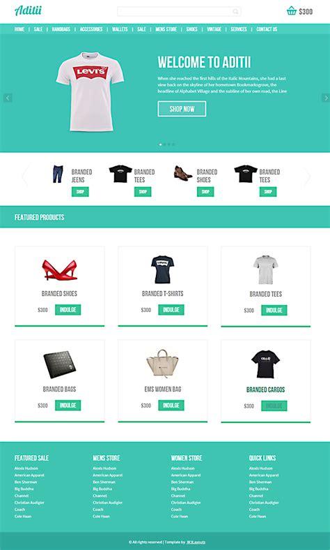 template blog toko online sederhana 7 template responsive keren gratis untuk website toko