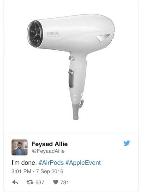 Hair Dryer Iphone apple announces iphone 7 wireless headphones reacts in horror page 2 the