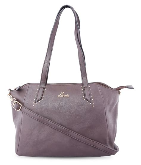 Faux Leather Satchel Bag lavie brown faux leather satchel bag buy lavie brown
