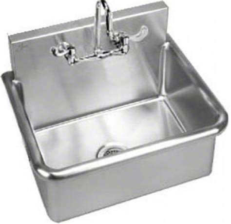wall hung stainless steel sinks stainless steel wall hung wash up sink free shipping