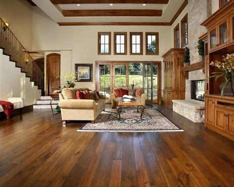 living room stained wood trim design pictures remodel