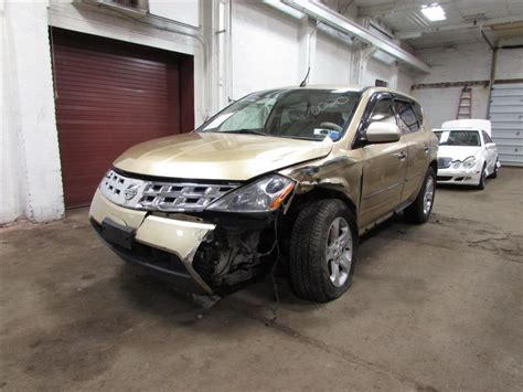repair anti lock braking 2003 nissan murano windshield wipe control used 2003 nissan murano other exterior parts for sale