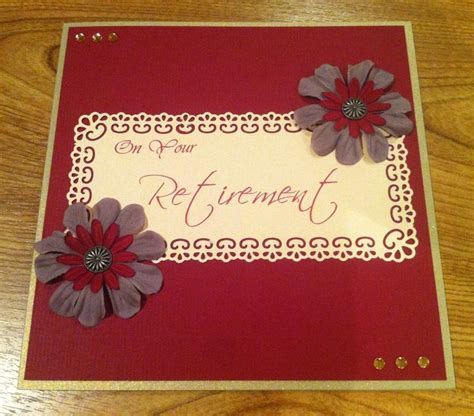 Handmade Retirement Card - handmade retirement card cards