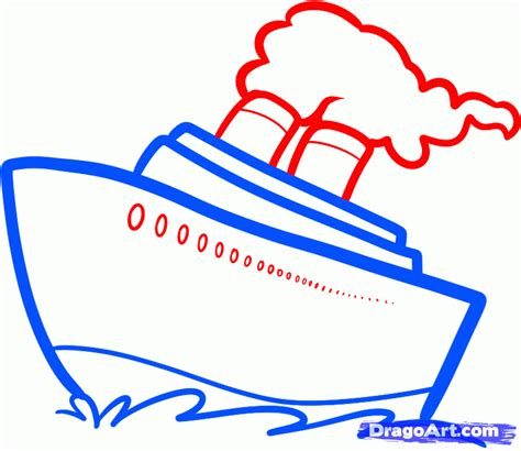 boat drawing easy step by step how to draw a ship easy step by step boats