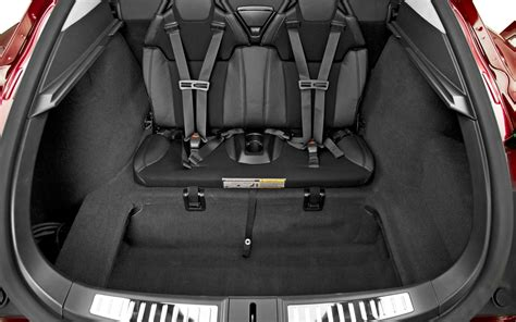 Tesla Rear Seats Image Gallery Tesla S Trunk