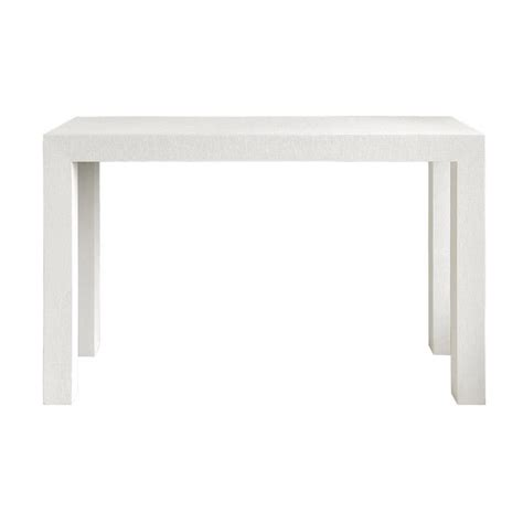 Bungalow 5 Parsons Console Table White White Console Desk