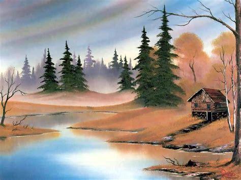 bob ross painting dock художник bob ross вернисаж мир красок классический