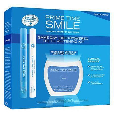 prime time smile  day light powered teeth whitening