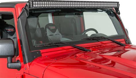 Kc Hilites 366 Overhead Mount C50 Led Bar Bracket Kit Jeep Wrangler Led Light Bar Mount