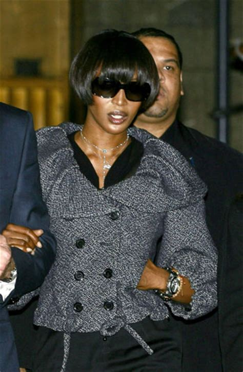 Naomis Day In Court by Supermodel Cbell Pleads Guilty To Assaulting