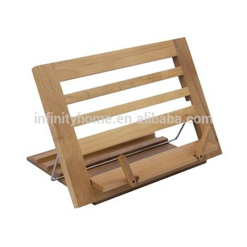 book holder for bed folding height adjustable wooden book reading stand book
