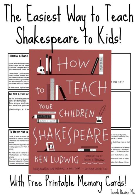 shakespeare biography for elementary students teaching shakespeare to kids student centered resources