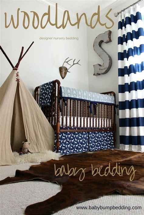 Deer Themed Crib Bedding Adventure Themed Nursery Woodlands Baby Boy Bedding Deer Baby Bedding Designer Baby Bedding