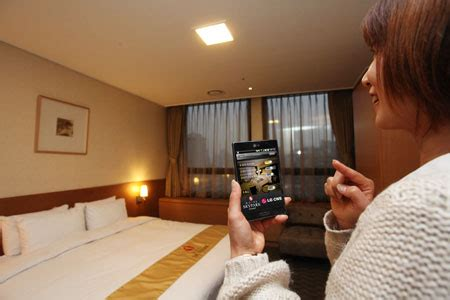 smart room lg cns launches smart hotel service