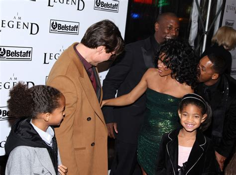Pinkett Supports Tom Cruise by Tom Cruise Jaden Smith Photos Photos Warner Brothers