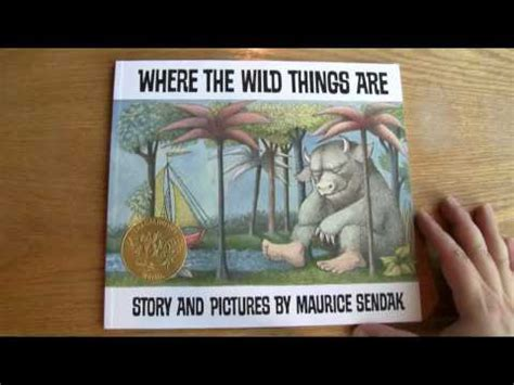 where the things are picture book where the things are review and plot summary