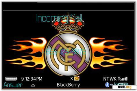 themes blackberry real madrid download free fc real madrid theme for blackberry os 4 1