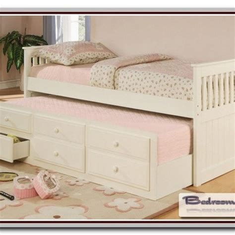 twin bed with pull out bed underneath alaskan king size bed bedroom galerry