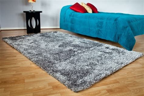 College Room Rugs by Shaggy Rug Slate Gray Is A High End Top Quality Room