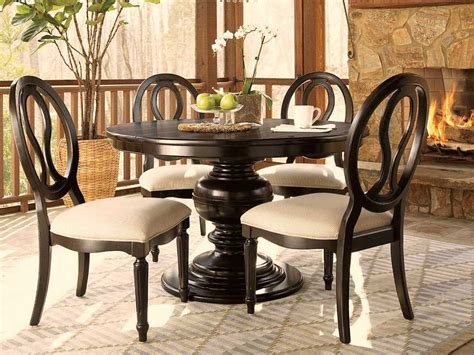 universal dining room furniture universal furniture summer hill 70 round midnight dining