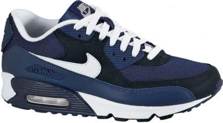 Sepatu Nike Air Max 90 Navyblackwhite nike air max 90 ex midnight navy white black sneakerfiles