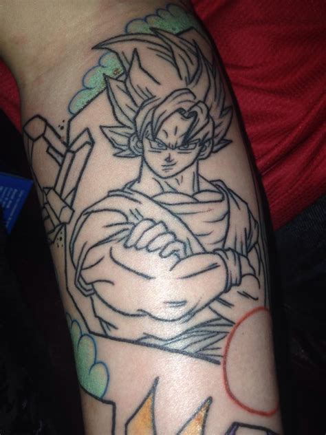 dragon ball z tattoo sleeve gt tattoos