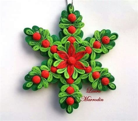 580 best images about quilling christmas flowers