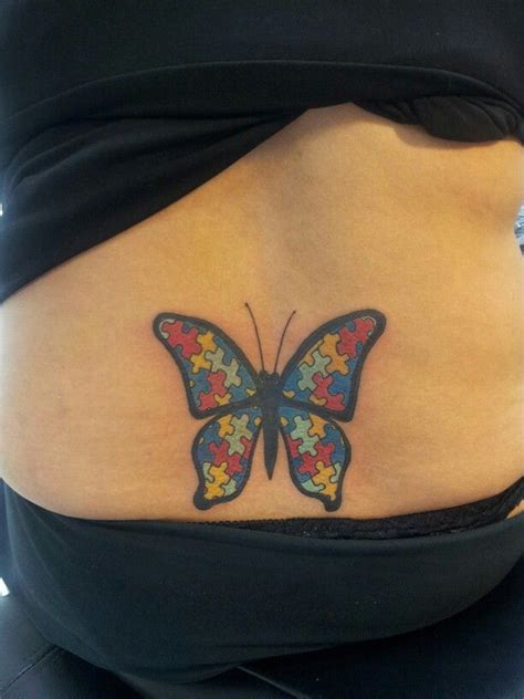 autism theme butterfly tattoo tattoos by shabazz pt 3