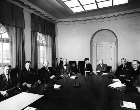 Jfk Cabinet by Ar6279 F President Elect F Kennedy And Designated