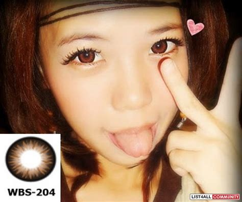 geo xtra bella brown geo xtra bella brown wbs 204 circle lenses 2 75