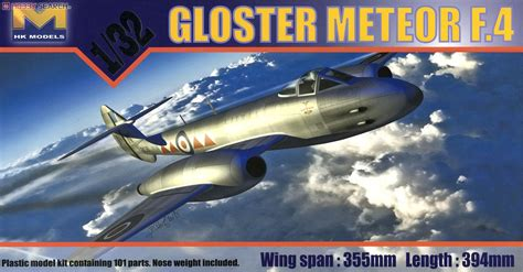 Acrylic F4 Akrilik F4 gloster meteor f 4 plastic model images list