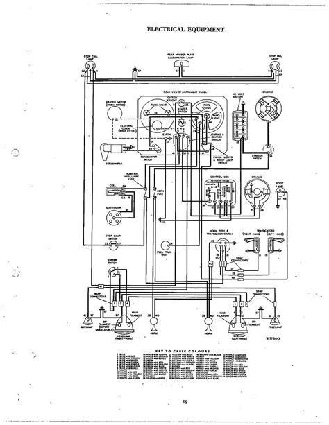 triumph spitfire parts diagram wiring diagrams wiring