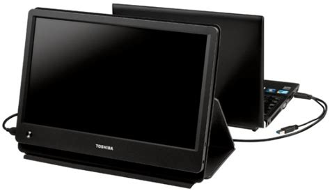 Monitor Lcd Toshiba draagbare 15 6 quot toshiba monitor werkt volledig via usb