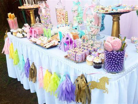 unicorn themed birthday party ideas unicorn theme party decoration 3 venuemonk blog