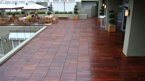 wood patio deck tiles