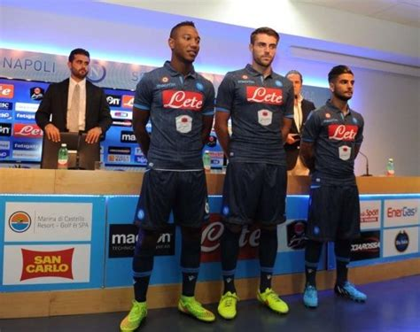 Jersey Napoli 3rd 2015 16 1 new napoli denim jersey 2014 15 ssc napoli 3rd kit 2014 2015 football kit news new soccer