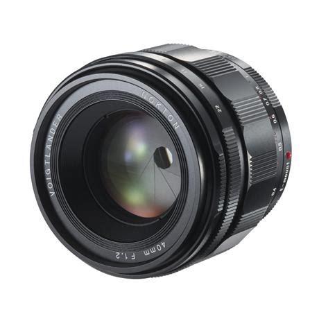 voigtlander nokton 40mm f/1.2 aspherical lens for sony e mount
