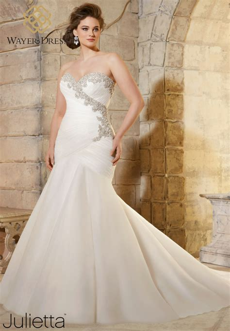 Designers With Plus Sized Wedding Dresses by Designer Plus Size Wedding Dresses Mermaid Style