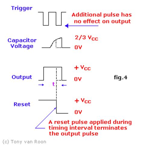 resistor voltage output 555 timer oscillator tutorial