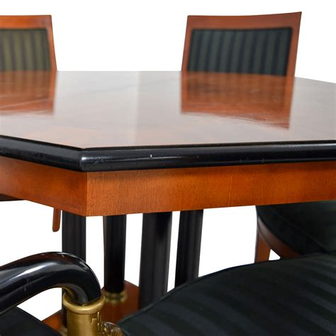 81 vintage dining table set with gold accent 81 vintage dining table set with gold accent tables